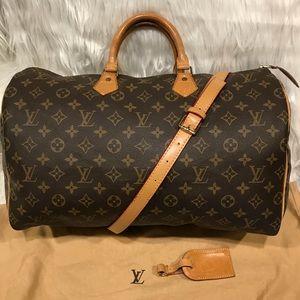 Louis Vuitton Speedy 40 Tote      #10.1